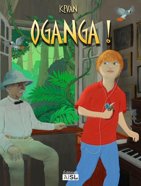 couverture Oganga !