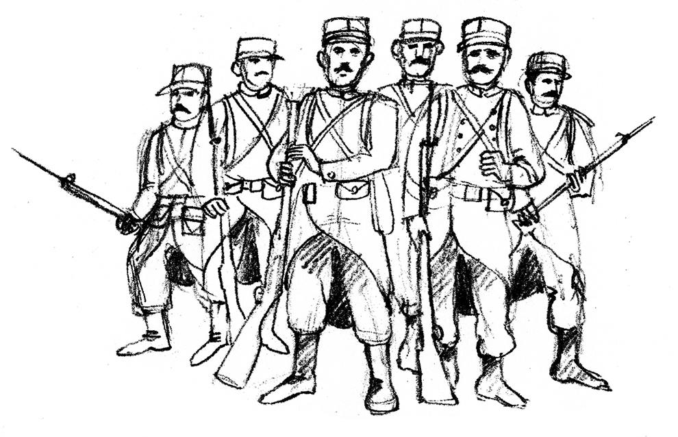 illus soldats